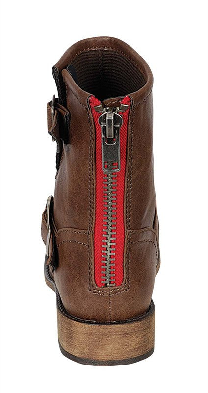 Walking In The Park Ankle Boot Light Brown
