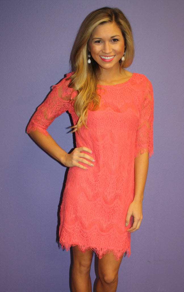 Blushing in Lace Coral