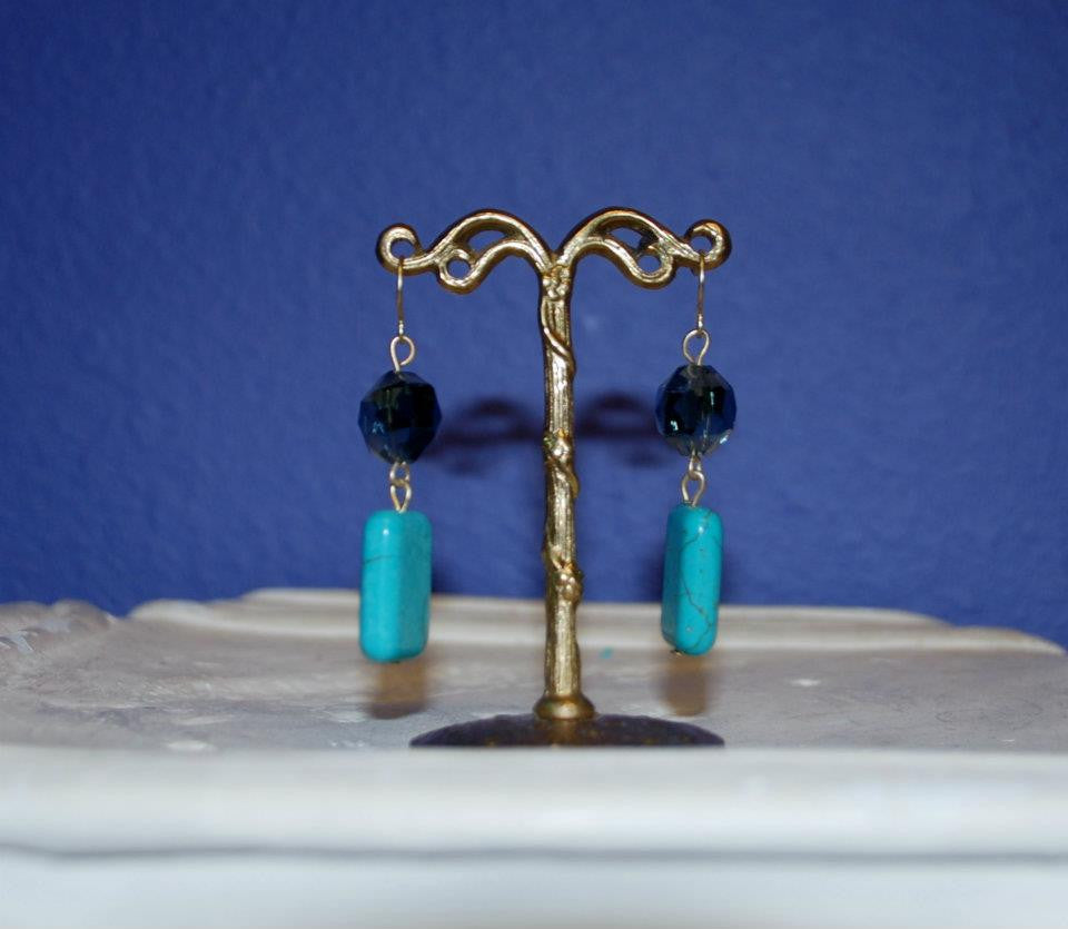 Squared Away Earrings