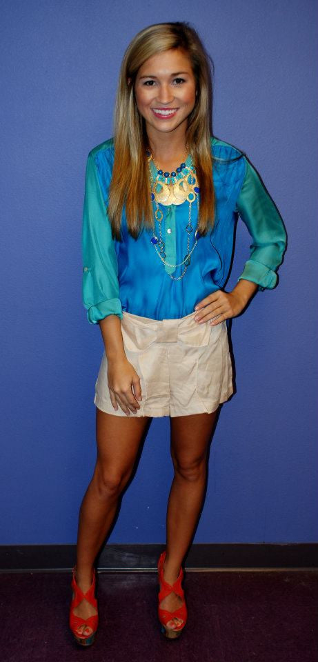 Jade/Blue Tunic