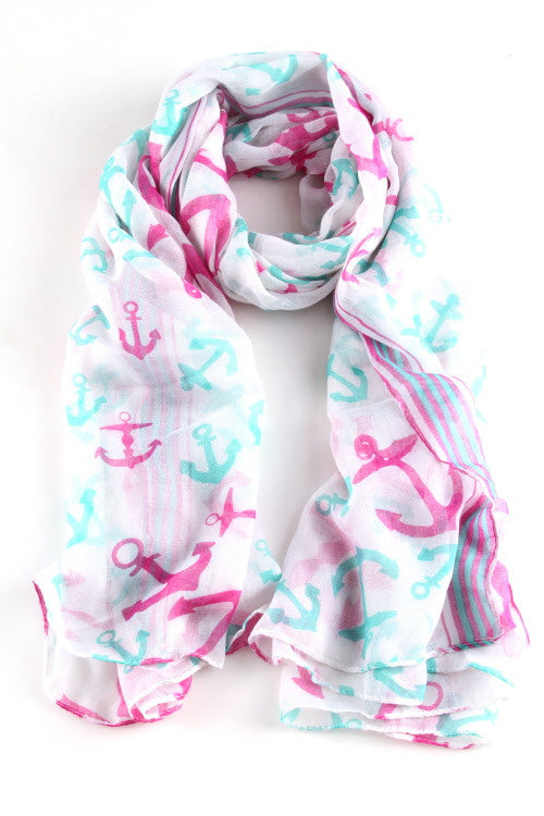 Meet Me On The Yacht Scarf
