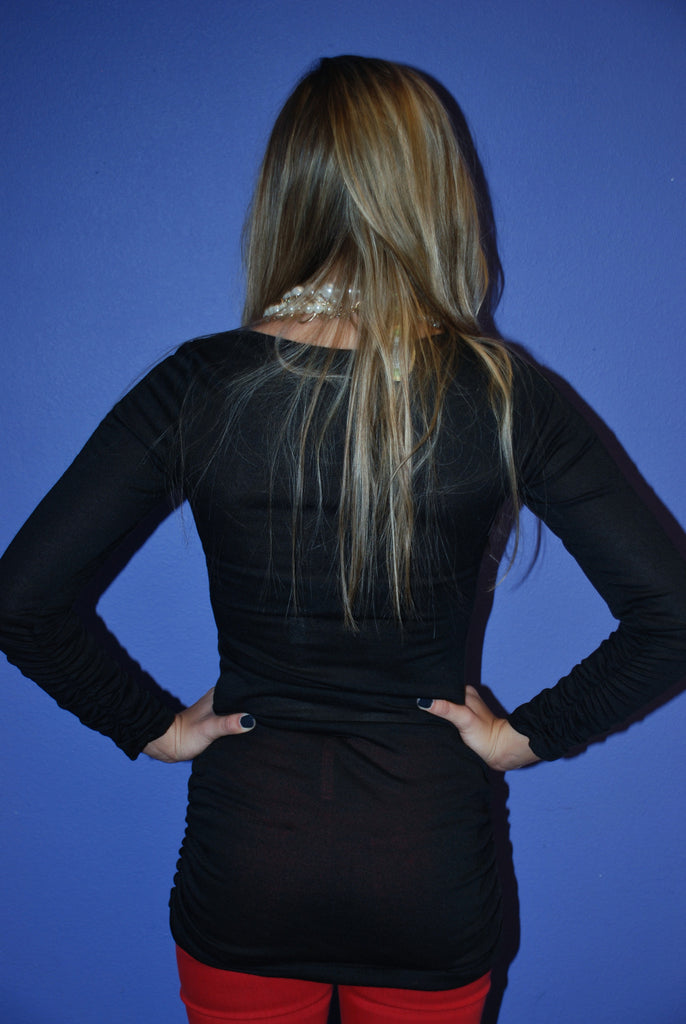 Signature Tunic Black