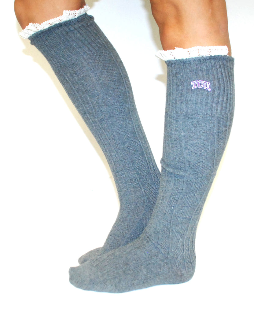 Collegiate Leg Warmers TCU