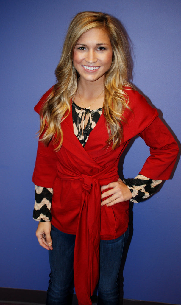 Perfect Jacket Red