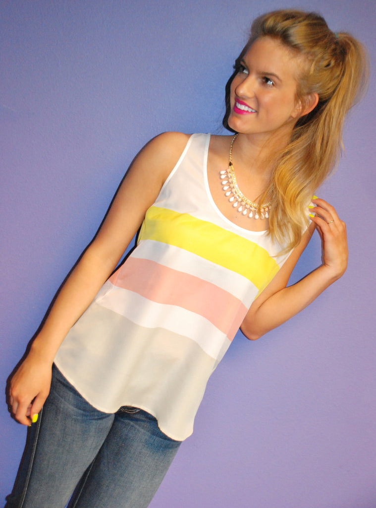 Boardwalk Babe Tank