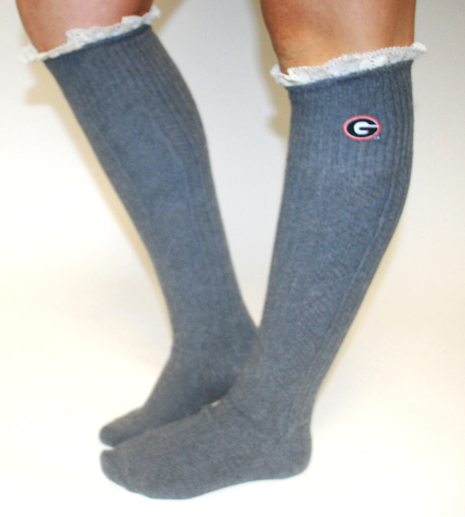 Collegiate Leg Warmers Georgia
