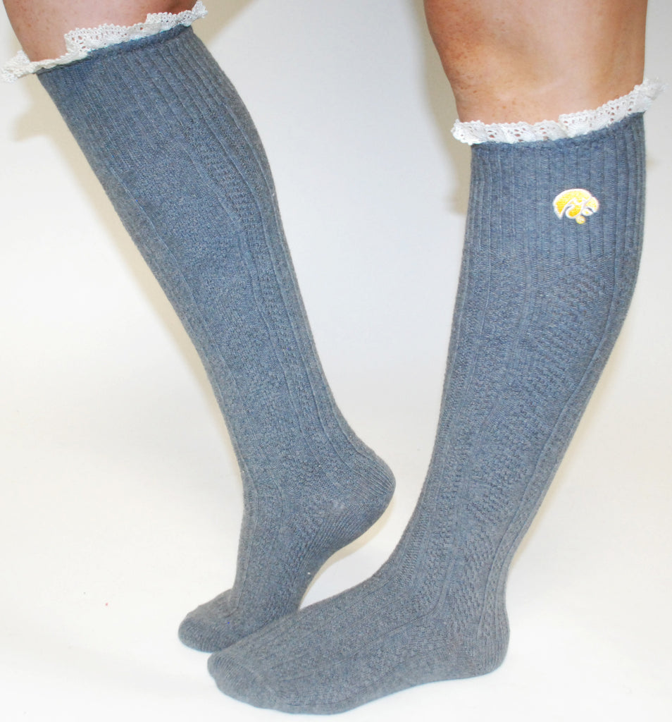 Collegiate Leg Warmers Iowa
