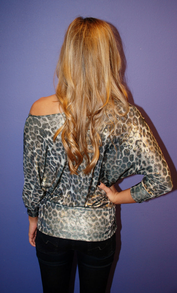 Charming Leopard Silver