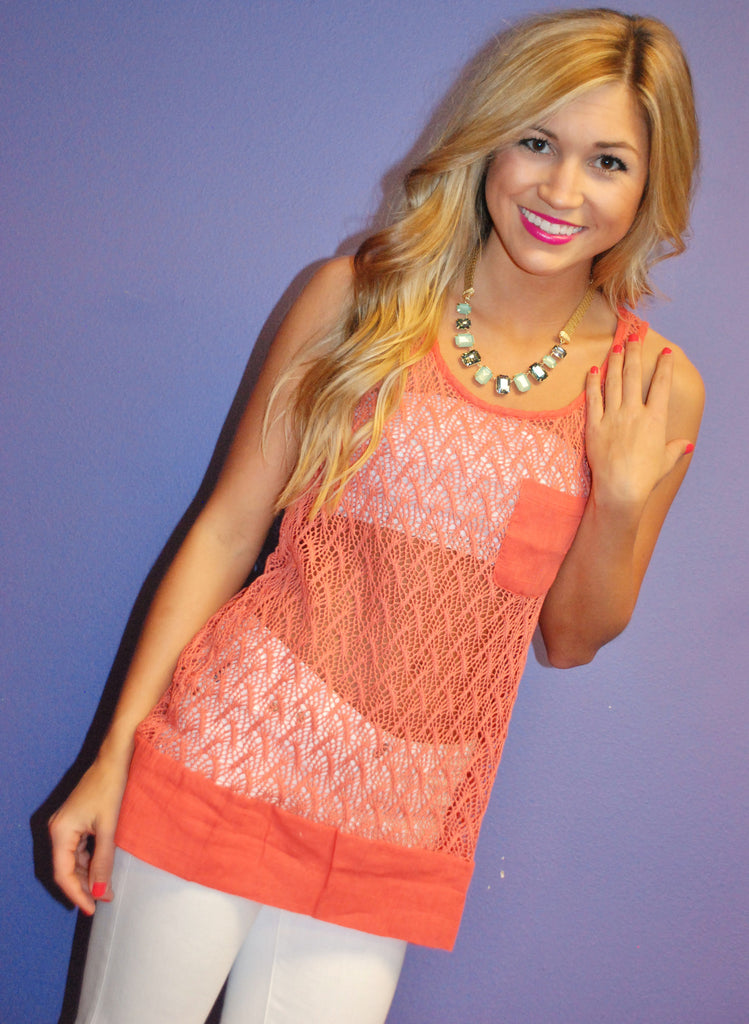 Coral Sunsets Tank