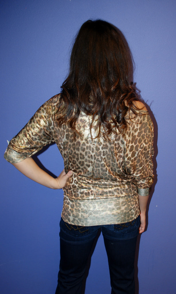 Charming Leopard Gold