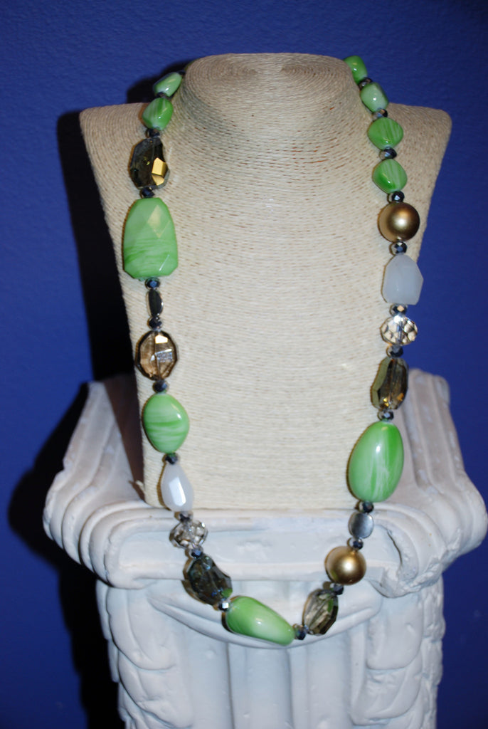 Lime Love Necklace