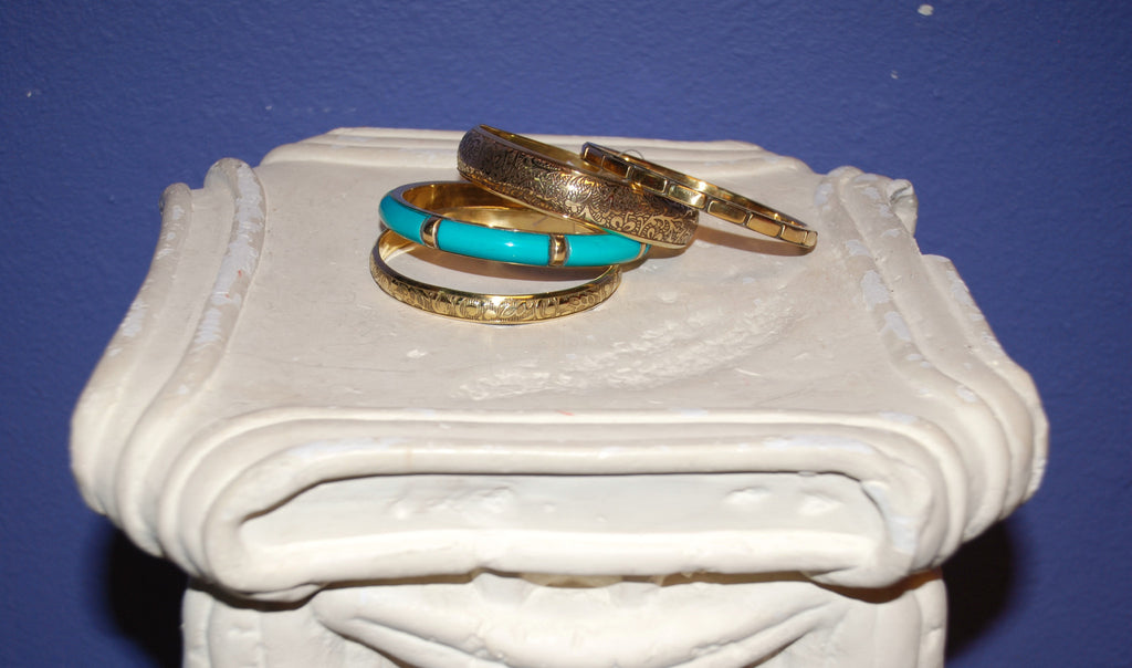 Aztec Bangle Set