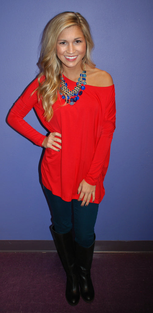 PIKO Tee in Red