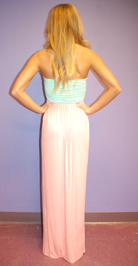 Beach Bum Maxi Peach