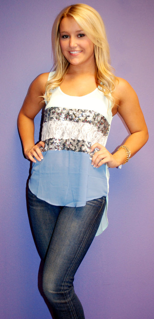 Boardwalk Beauty Mint Tank