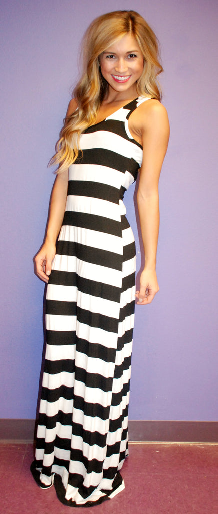 Summertime Stripe Maxi