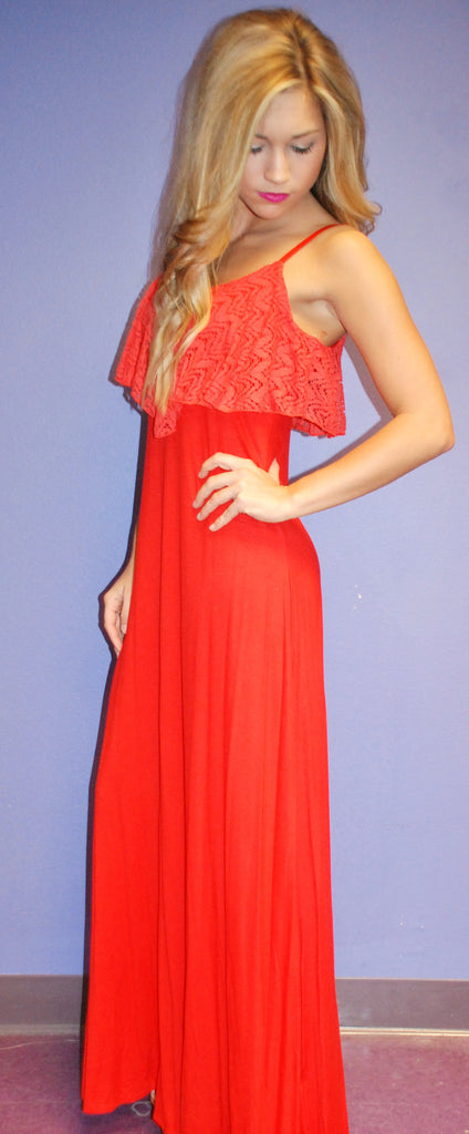Impress Glam Maxi Red
