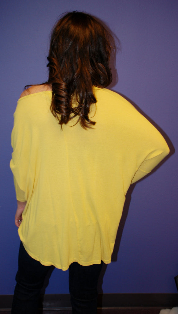 Perfect Fall Tee Yellow