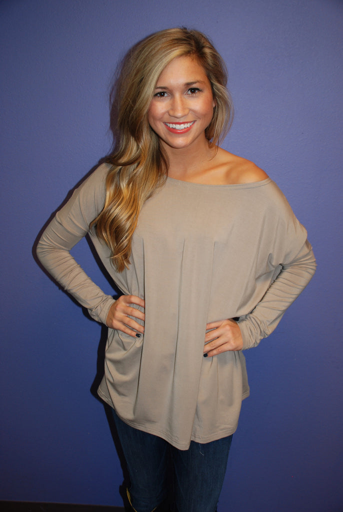 PIKO Tee in Sand
