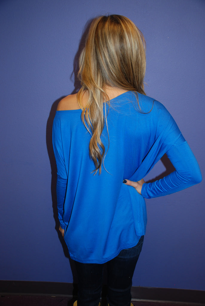 PIKO Tee in Royal