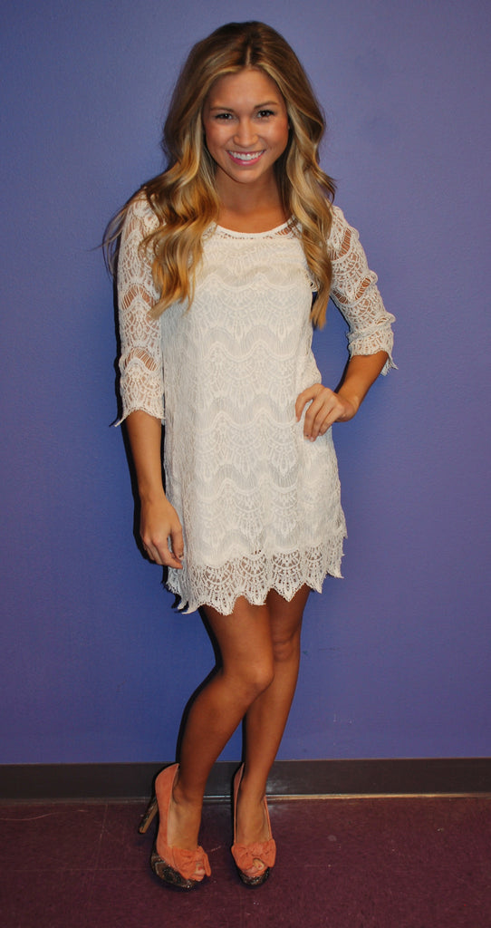 Pretty in Lace Ivory
