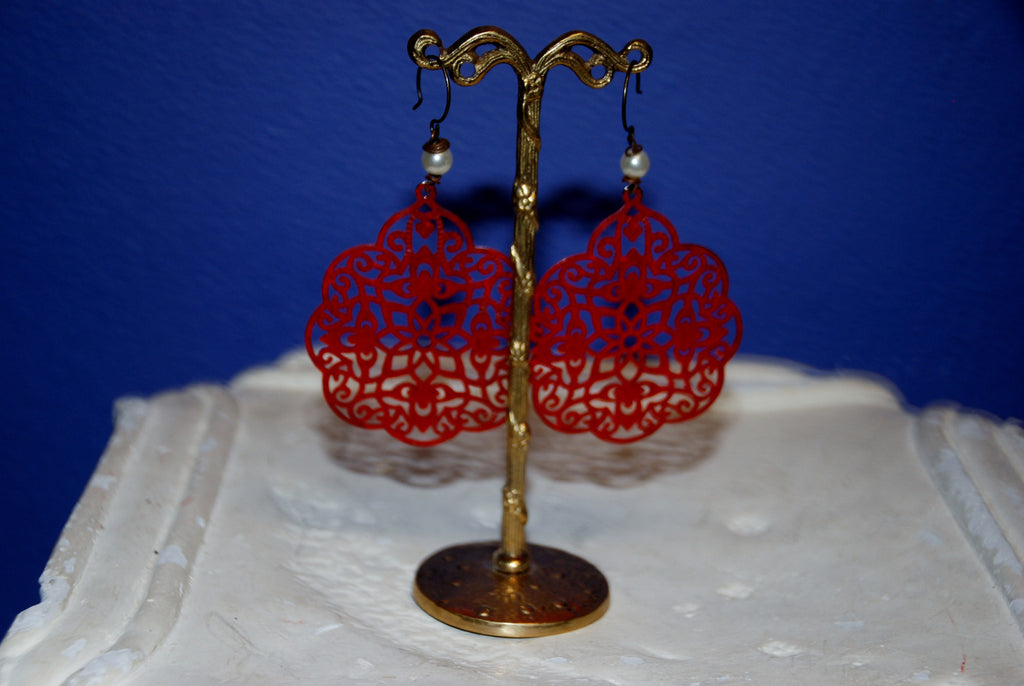 Vintage Lace Earring