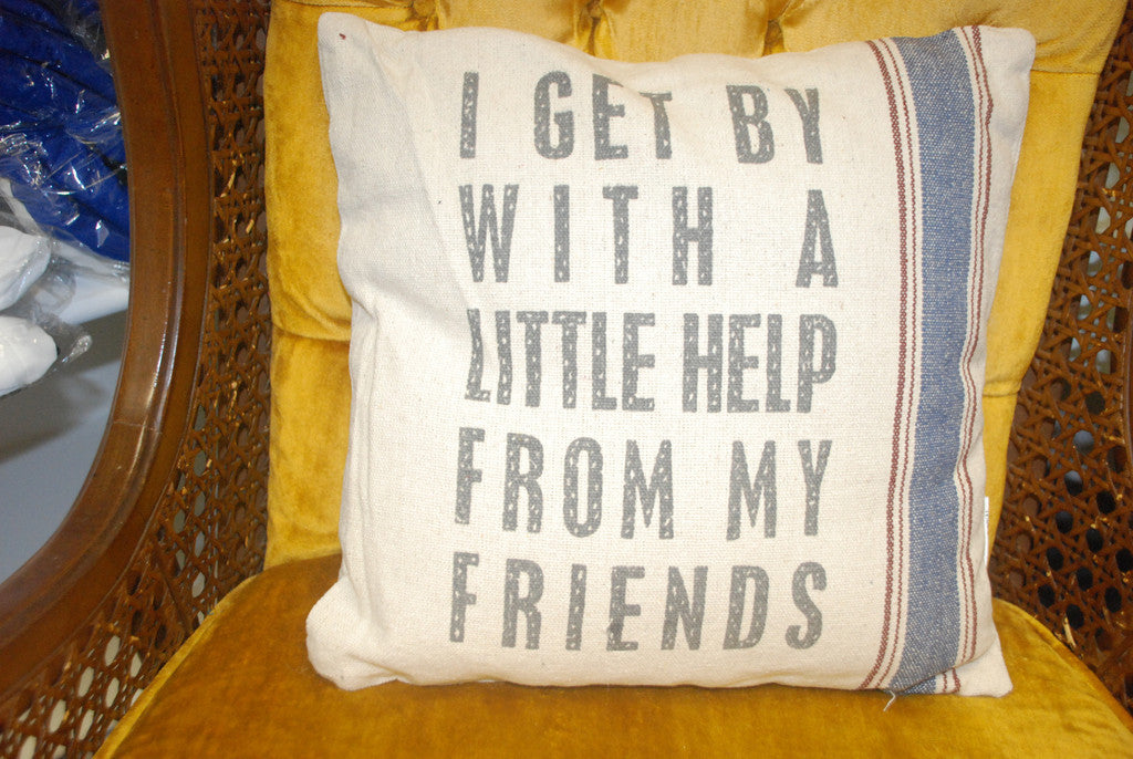 I Get By… Pillow