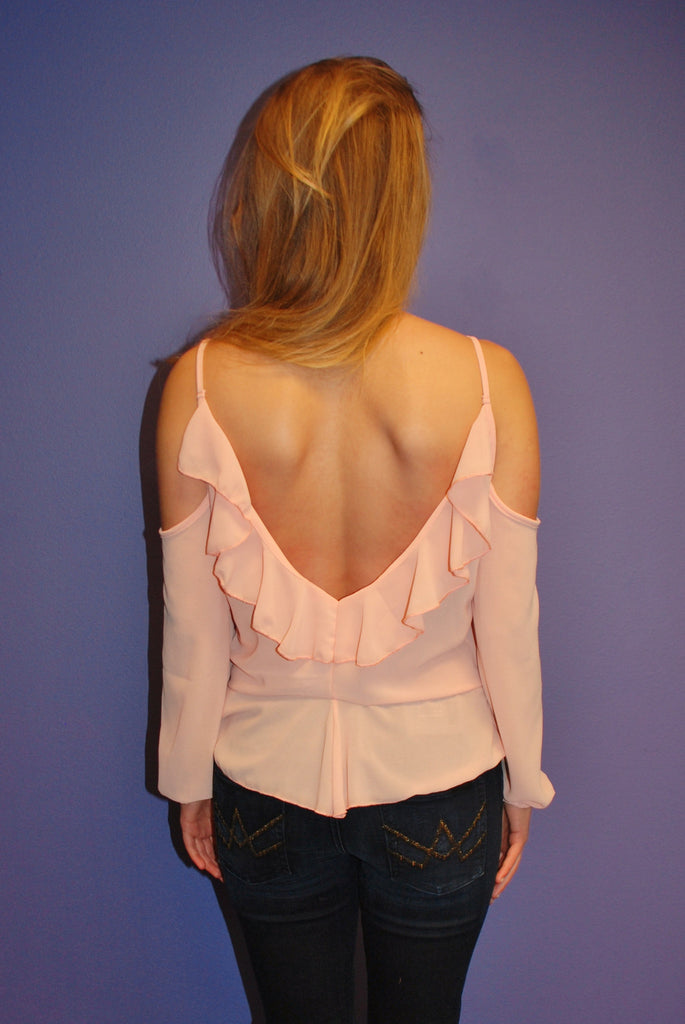 Ruffles and Romance Peach