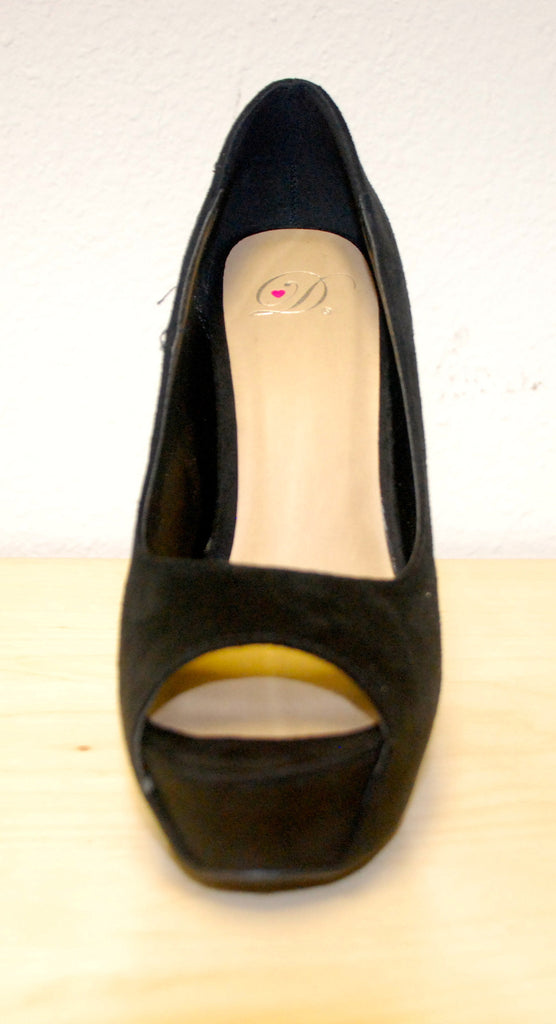 Walk This Way Wedge Black