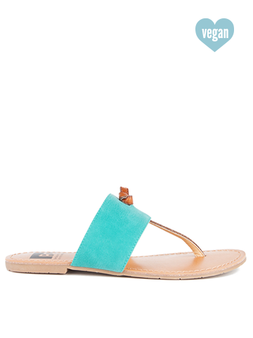 Gotta Try Sandal in Teal