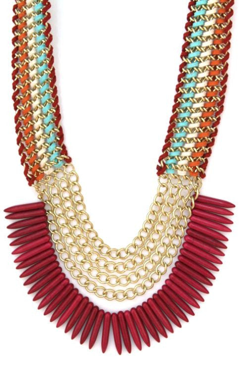 Tribal Me Pretty Necklace