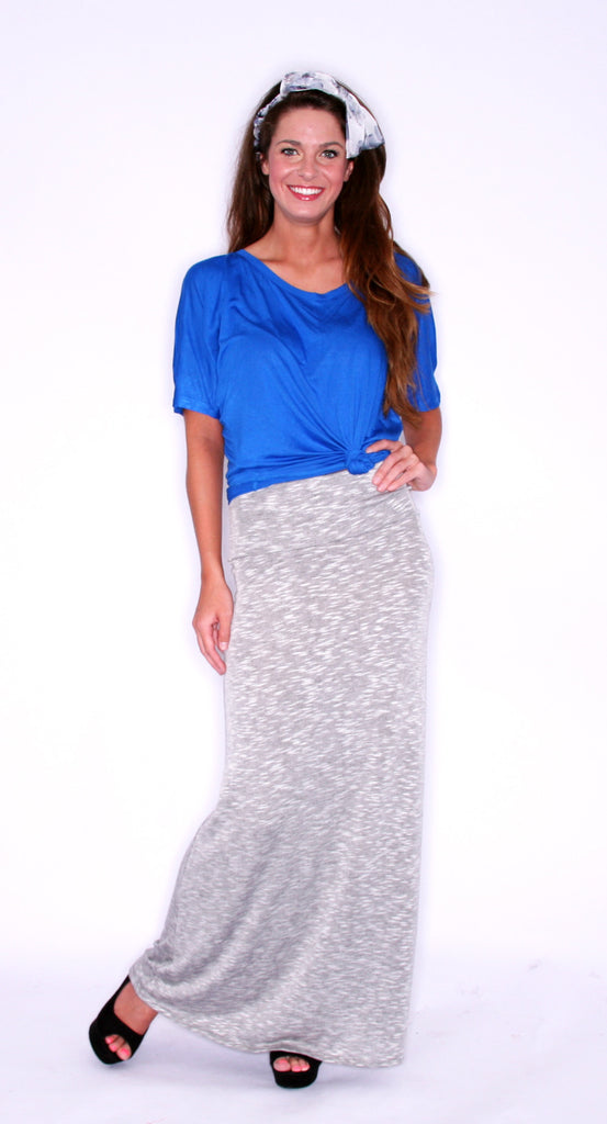 Fashion Week Skirt Heather Grey