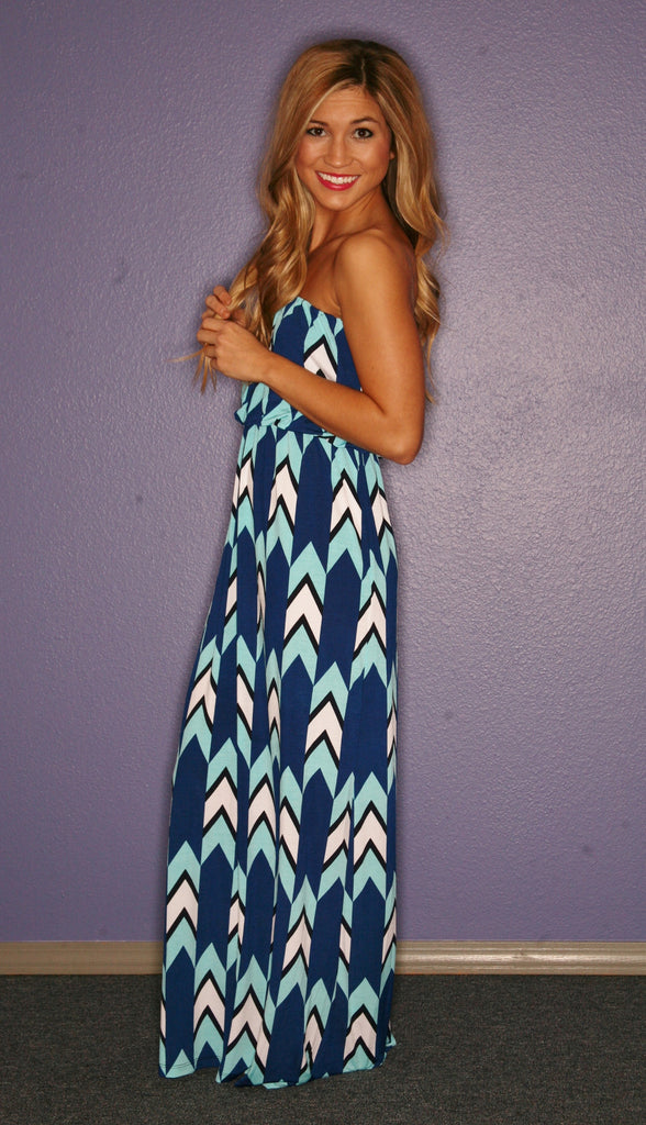 Palm Beach Maxi in Blue