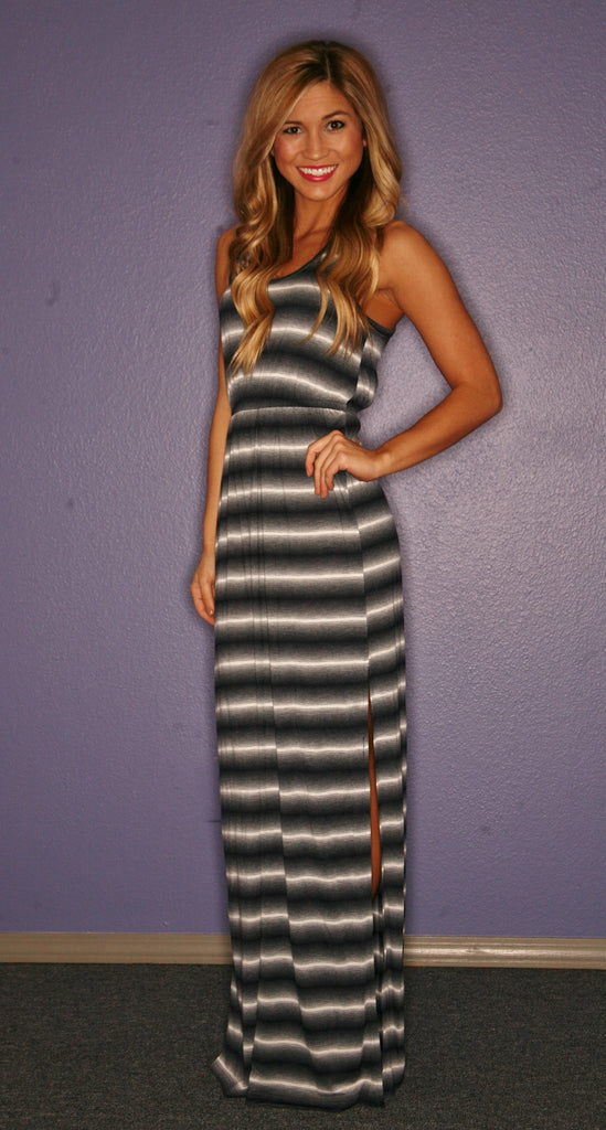 Salty Kisses Maxi in Navy