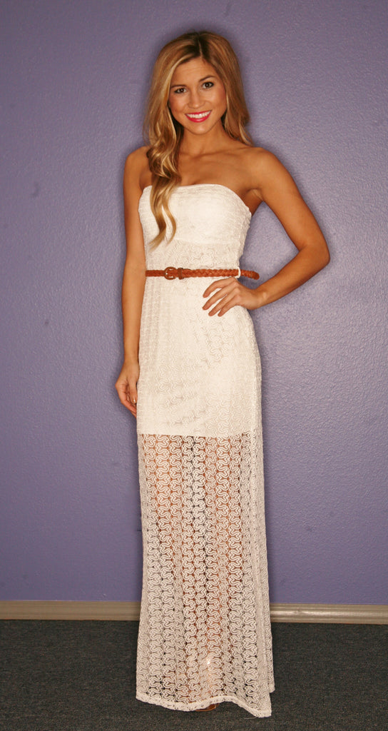 Pink Diamond Maxi in Ivory