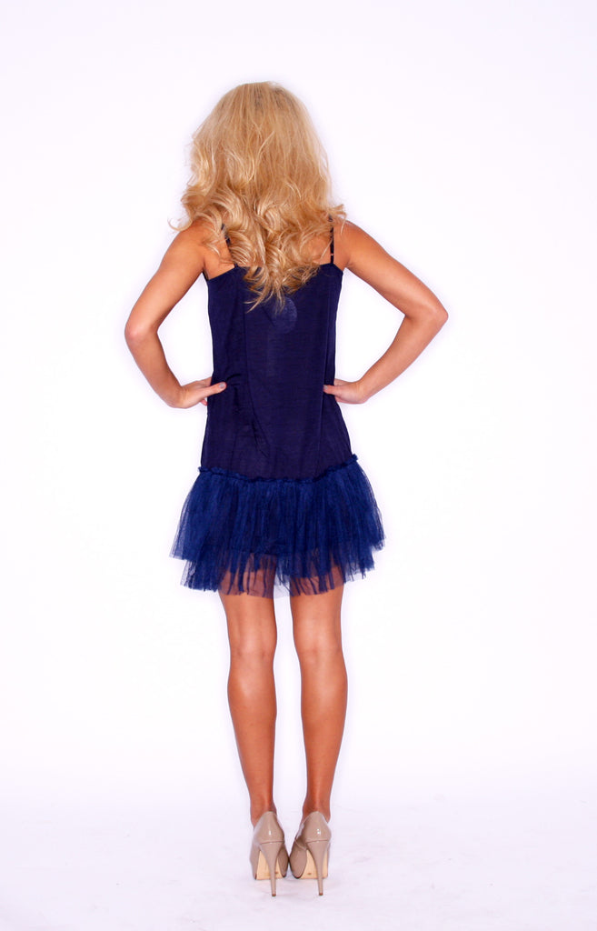 TuTu Cute Slip Dress Navy