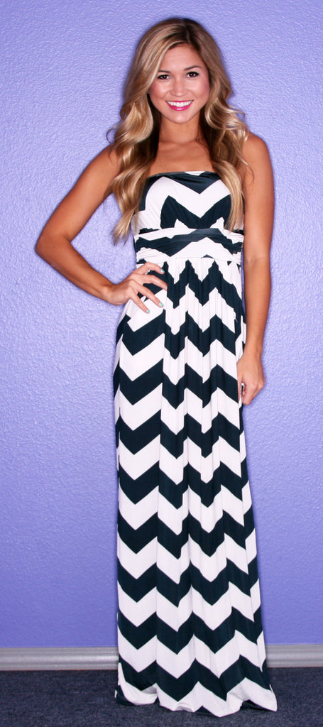 Sunkissed Stripe Maxi in Midnight