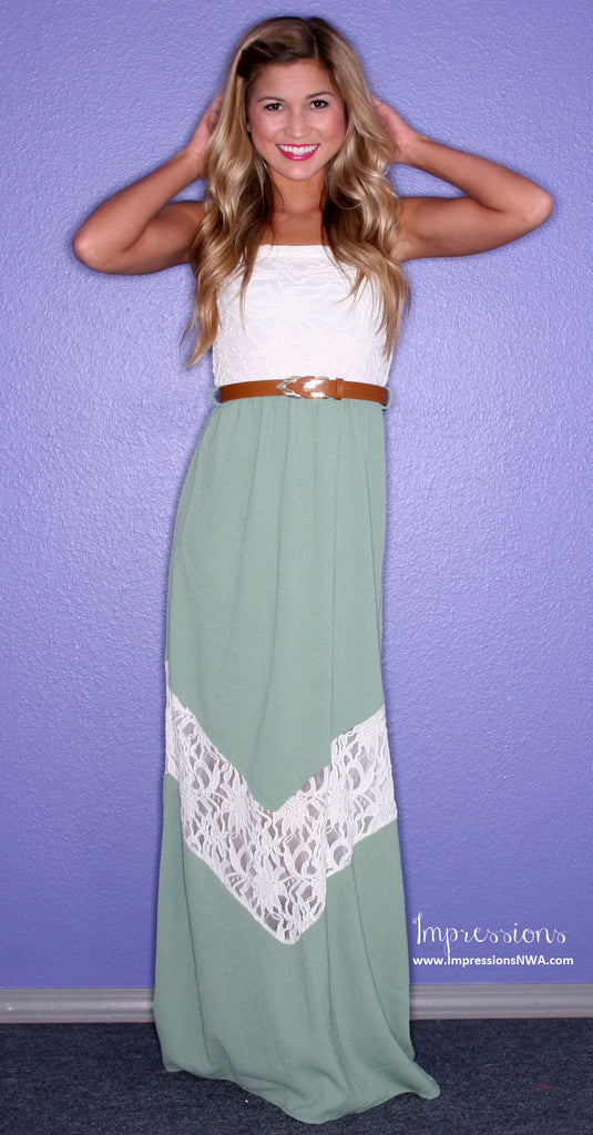 So French Maxi Green
