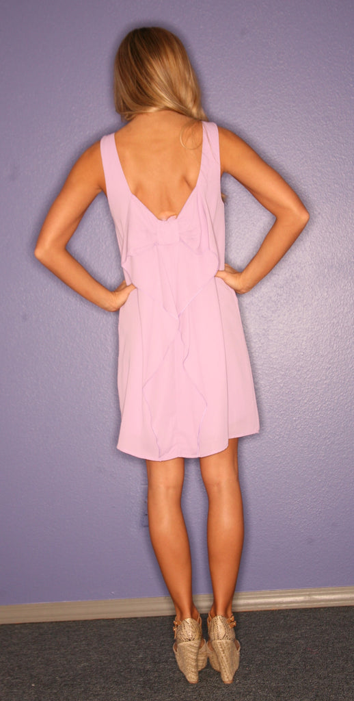 Bows & Kisses Sleeveless Lilac