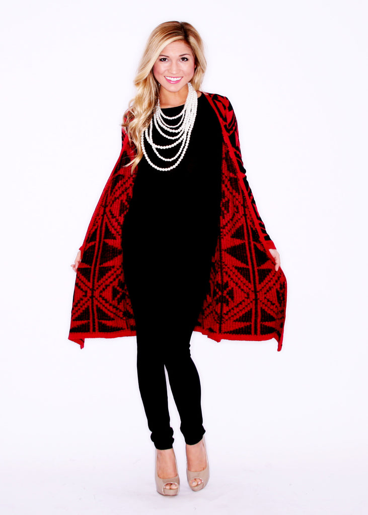 Matchmaker Cardi Red