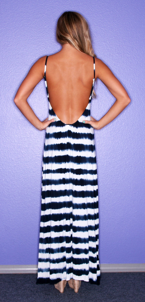 Striped Ever After Navy