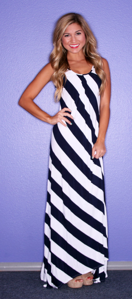 Happiness is Stripes Navy