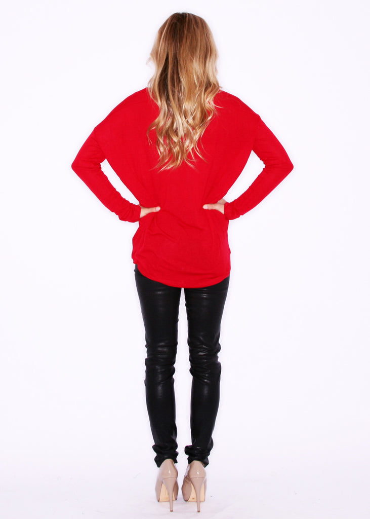 Simply Sweet Tee Red