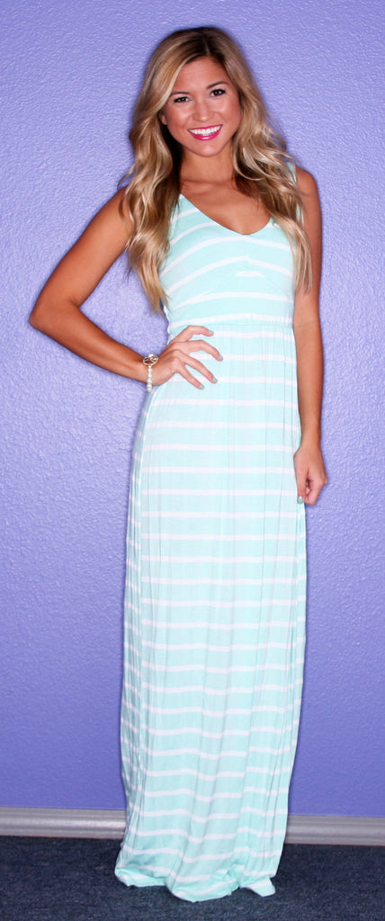 Striped Bliss Maxi Mint
