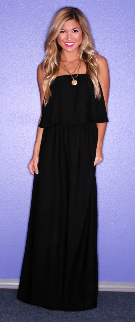 Forever Chic Maxi Black