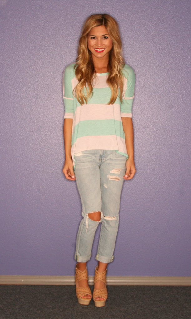Love at First Stripe Mint