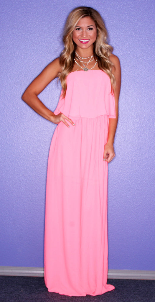 Forever Chic Maxi Pink