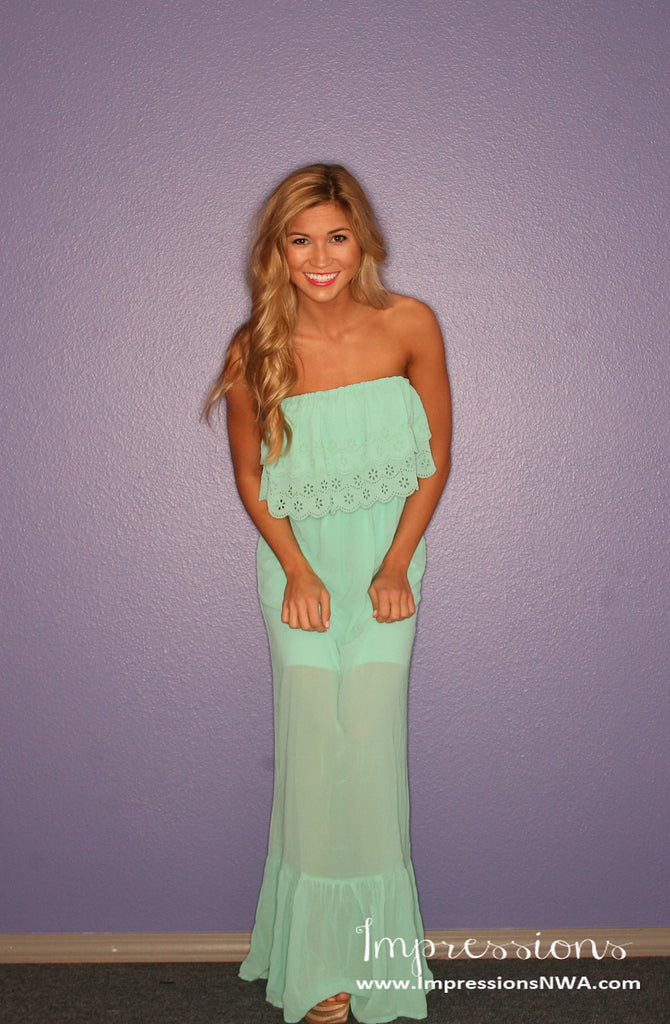 Southern Charm Mint Maxi