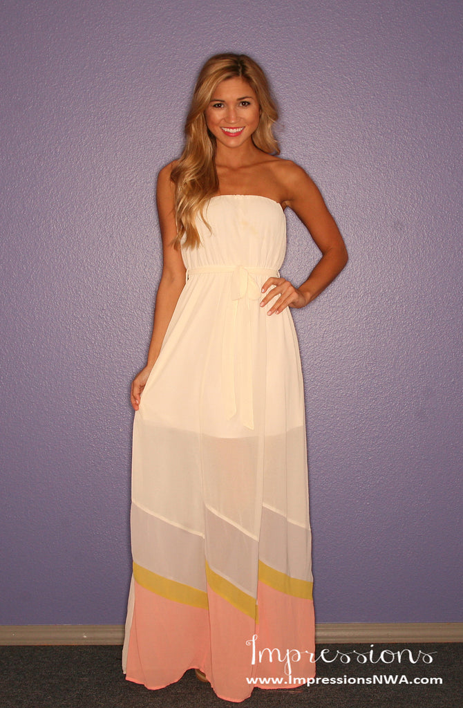 Sunshine Dreams Maxi in Cream