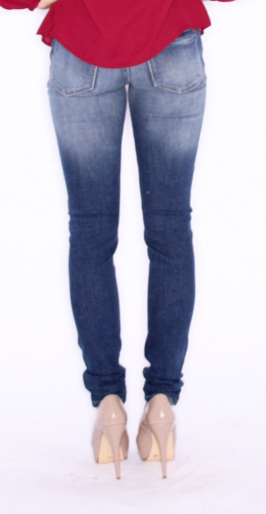 Everyday Distressed Skinny Stone Blue